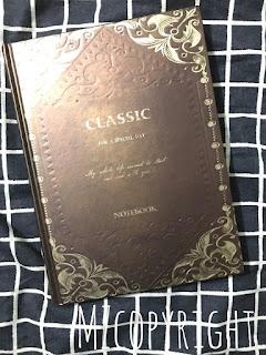 Diary Classic : DC005 (New), Mek Zumbie Giveaway, Hadiah Buat Pemenang,