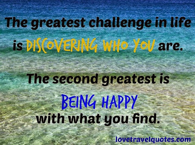 the greatest challenge in life