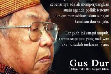 Jaka Tingkir, Gus Dur, Dan Politik Saat Ini