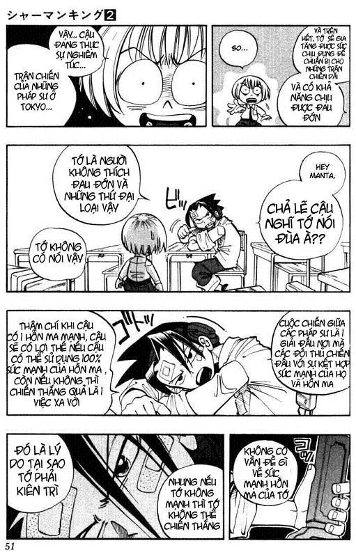 Shaman King [Vua pháp thuật] chap 11 trang 7