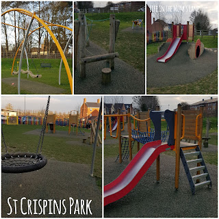 Parks and playgrounds in Northamptonshire - St Crispins