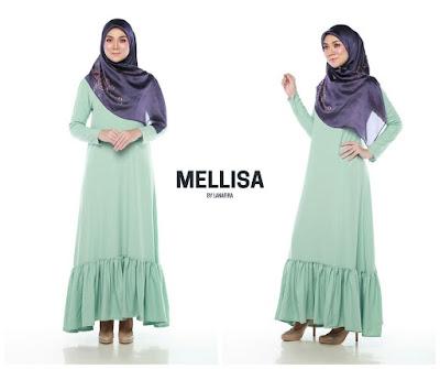 Lanafira - Mellisa long dress,