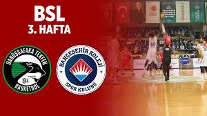 Gaziantep Basket - Bahçeşehir Klj Canli Maç İzle 06 Aralik 2018