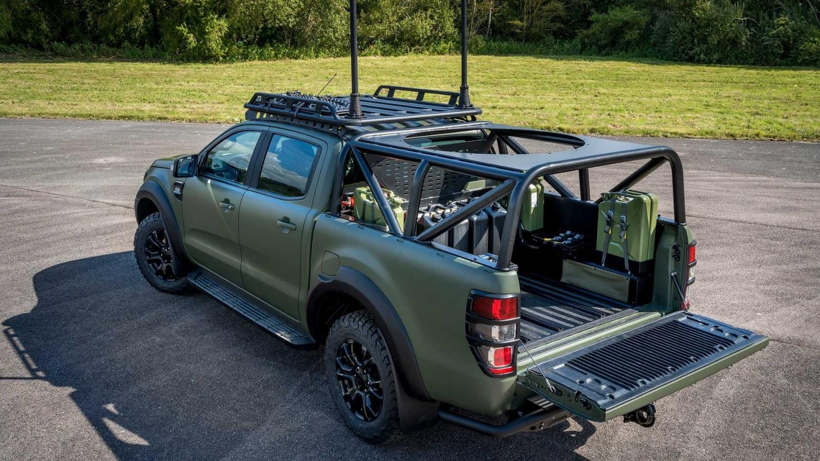Позашляховики Ford Ranger замінять Honker в армії Польщі