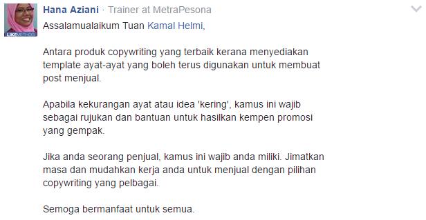Kamus Copywriting