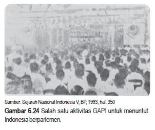 FRAKSI NASIONAL DAN GABUNGAN POLITIK INDONESIA (GAPI)