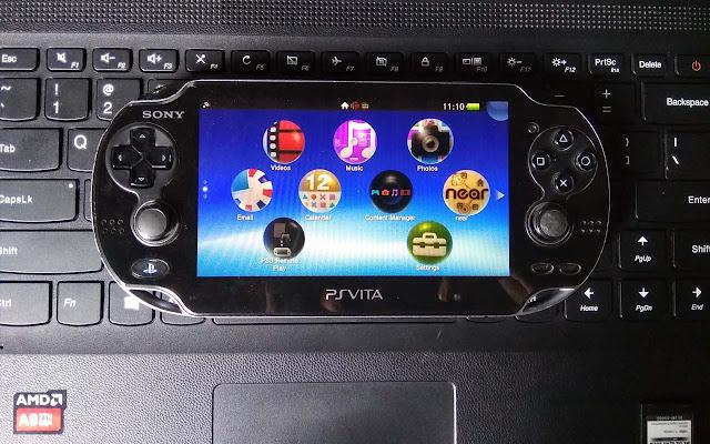 Kondisi fisik PS Vita / PlayStation Vita