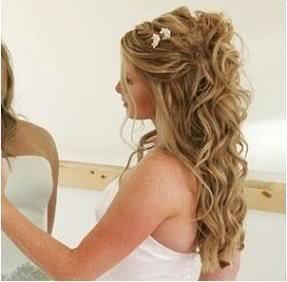 Wedding Hairstyles Maid Honor Cur