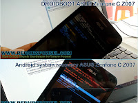 Hard Reset ASUS Zenfone C Z007 (DROIDBOOT & Recovery)