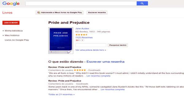 Usando o Google Books é possível encontrar uma boa variedade de livros integrais em domínio público