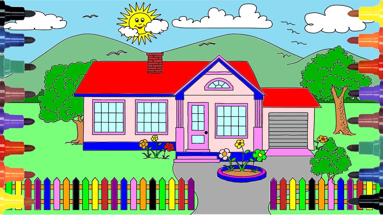 Video For Kids And Drawing Coloring