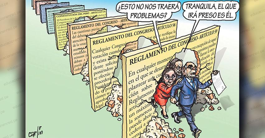 Carlincaturas Sábado 5 Octubre 2019 - La República