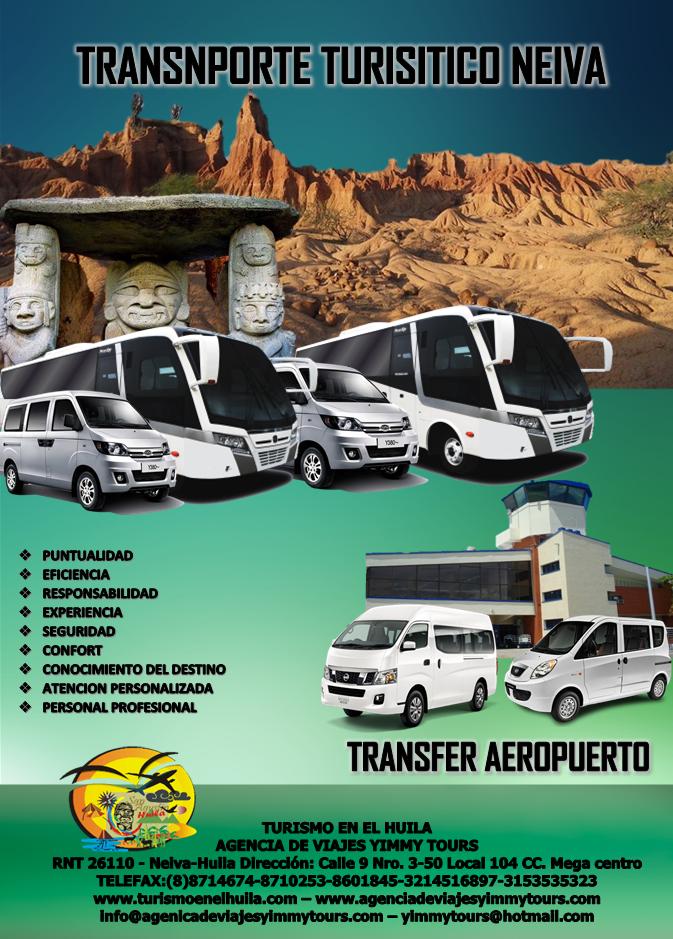 Tranfers y traslados aeropuerto benito salas de neiva - Agencia de viajes diana garzon ...