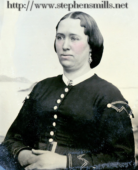 photo of Mehitable Perkins Felt  Born 8/2/1831 in Woodstock, Maine  Died 3/26/1899  daughter of Jeremiah Felt 1797-1879  and Eliza Perkins 1797-1875