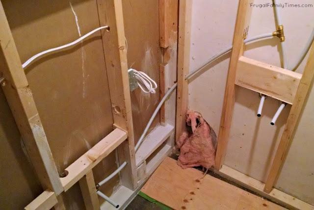 plumbing bathroom in basement without breaking concrete