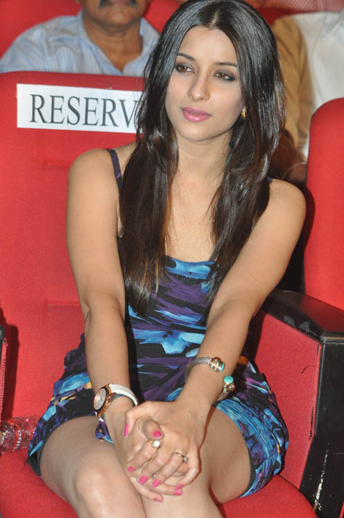 Madhurima at shadow audio launch