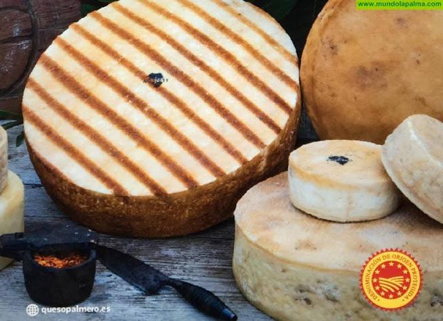 El queso palmero palmero recibe apoyo económico por parte del Ayunta-miento de El Paso