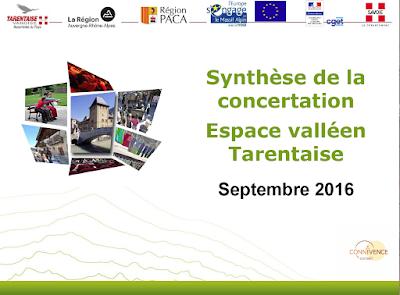 Synthèse de la concertation Espace valléen Tarentaise