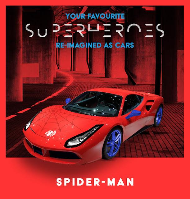 Spider-Man - Ferrari 488 GTB
