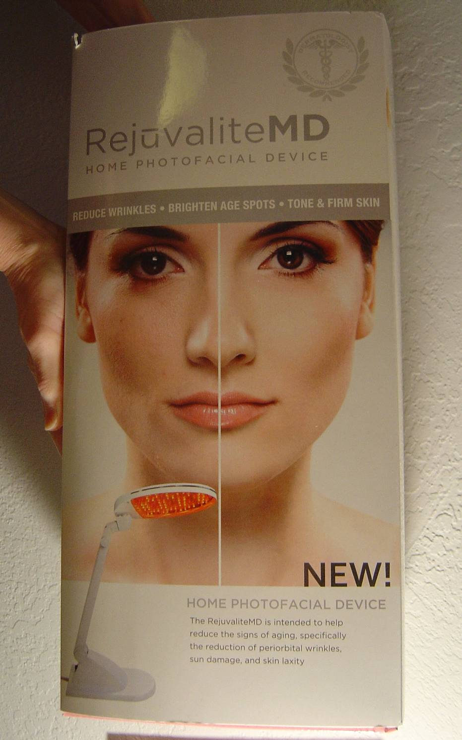 RejuvaliteMD Home Photofacial Device