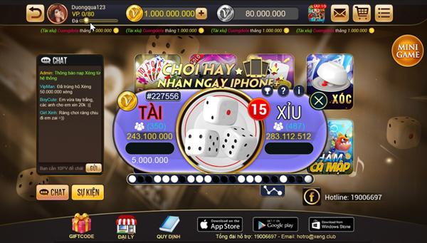 Xeng.Club - Cổng game Online: Sự Kiện Tài Xỉu chơi hay nhận ngay ...