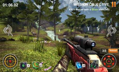 Hunting Safari 3D 1.4 Apk for android