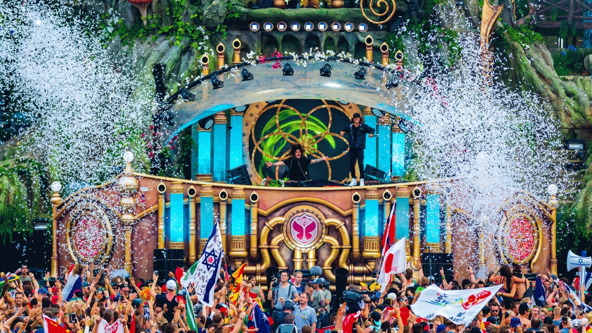 Tomorrowland Music Festival 2017 in Belgium