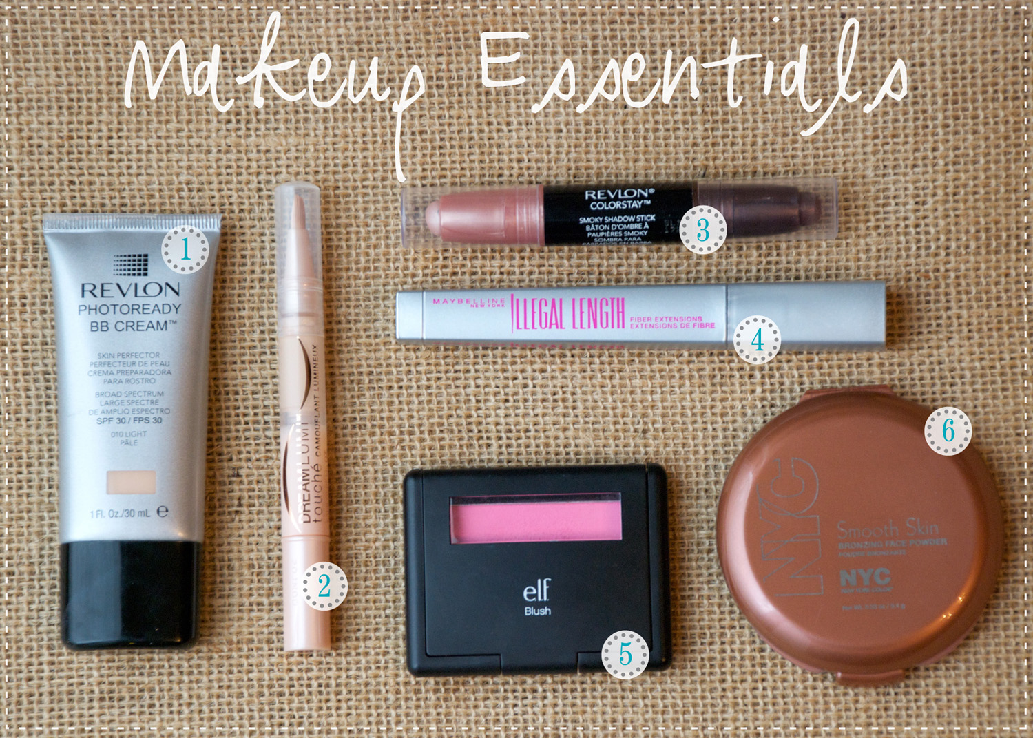 Sweet Tea And Sparkles Everyday Makeup Essentials