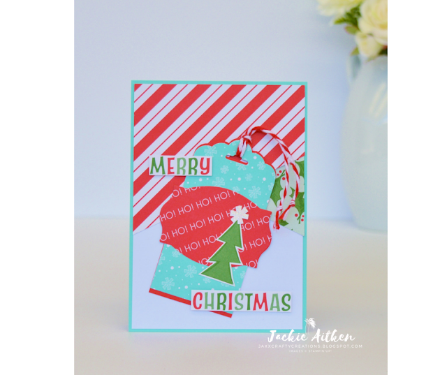 Stampin'Up!, Santa's Workshop Memories & More Card Pack, Christmas Cards, Christmas Elves, Jaxx Crafty Creations