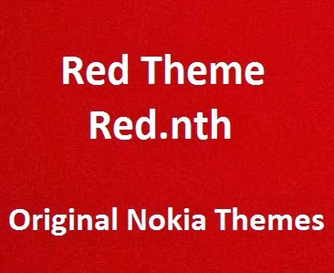 Red Theme [Red nth] - Download Original Nokia x2 theme