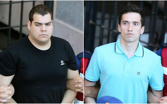 Αφέθησαν ελεύθεροι οι δύο Έλληνες στρατιωτικοί