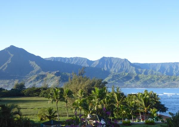 Kauai Princeville St Regis resort view