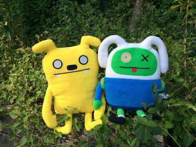 San Diego Comic-Con 2017 Exclusive Adventure Time Uglydoll Plushes
