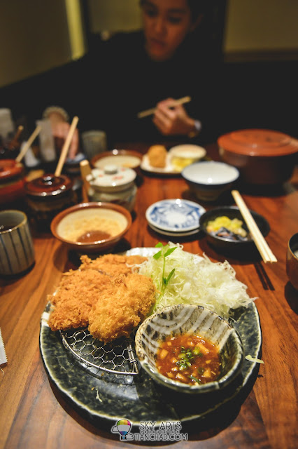 Tonkatsu in Japan best served with roasted sesame seed