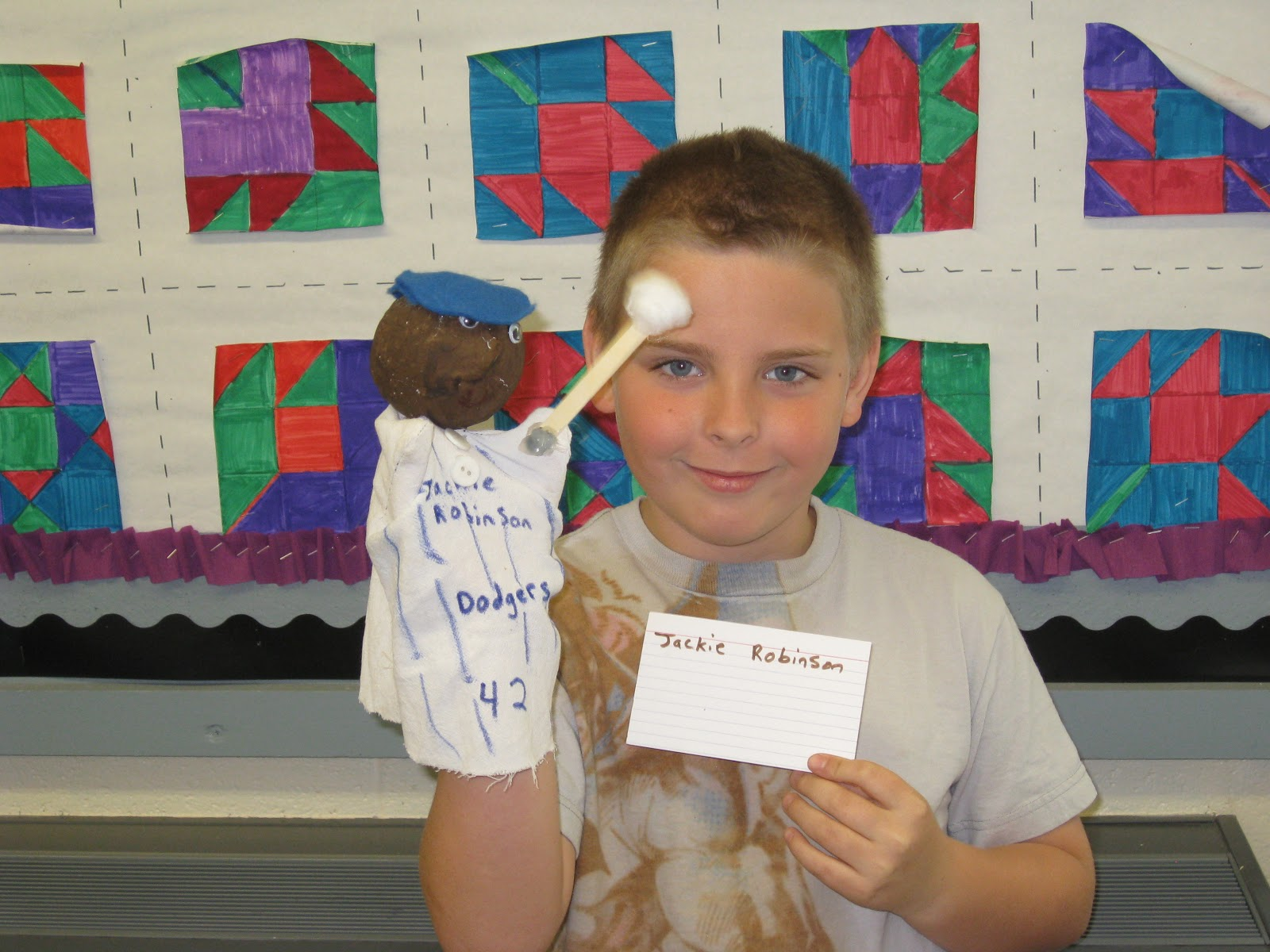 Mrs Gannon S Fantastic Fourth Grade Biography Puppets