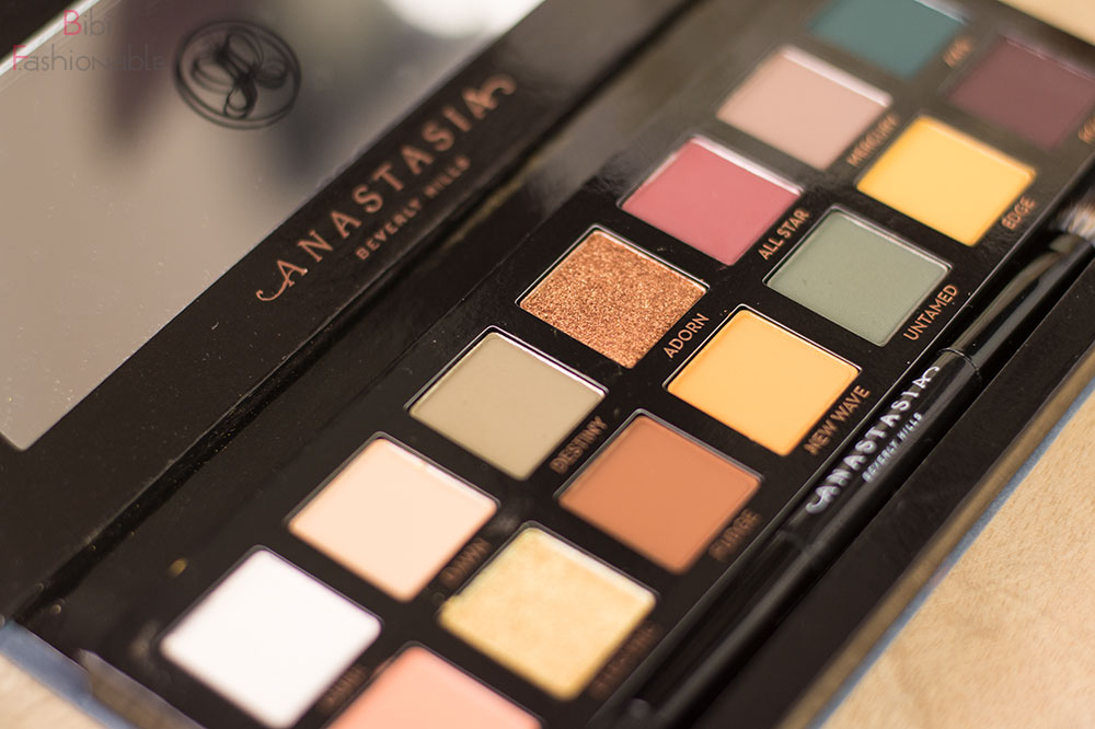 Anastasia Beverly Hills Subculture Farben nahe