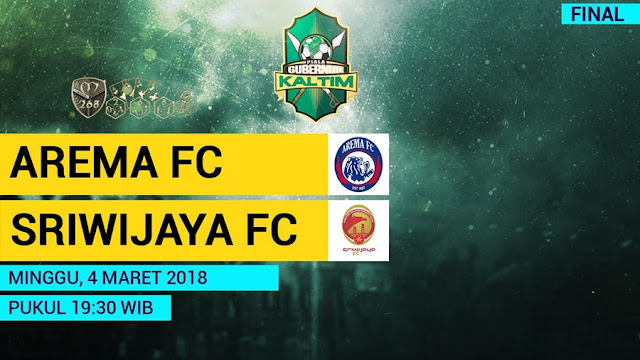 Prediksi Arema FC Vs Sriwijaya FC, Minggu 04 Maret 2018 Pukul 19.30 WIB