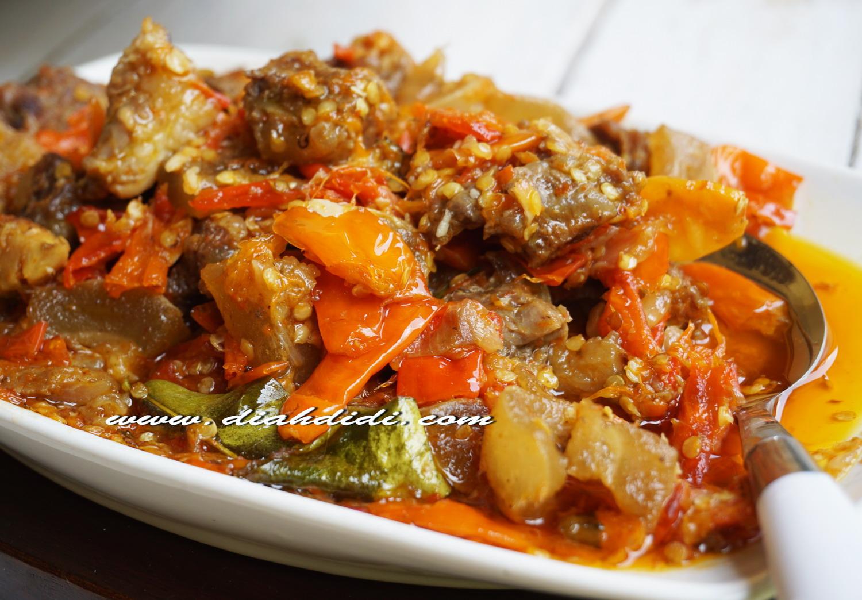 Diah Didi S Kitchen Oseng Mercon Tetelan Dan Kikil