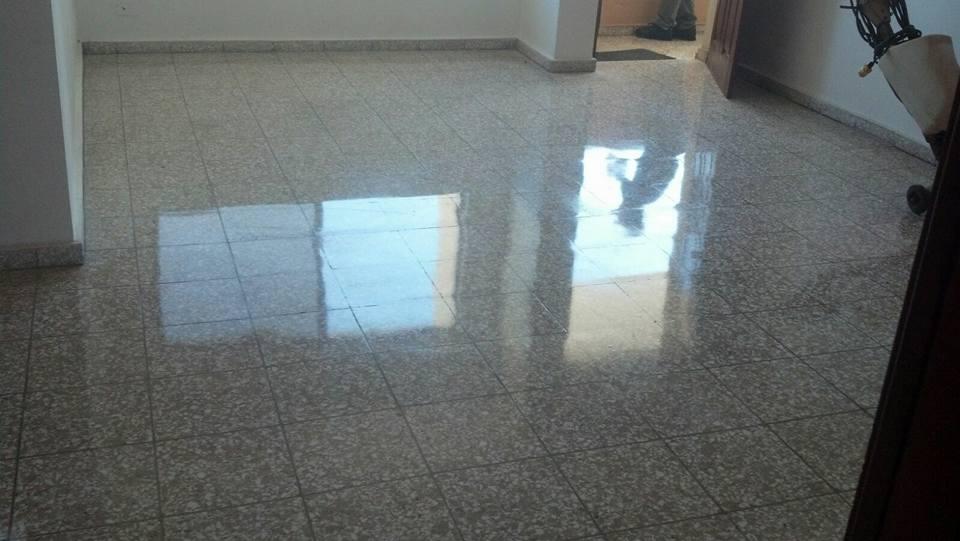 Cleaner dominicana cristalizado de pisos en granito for Manchas en el marmol