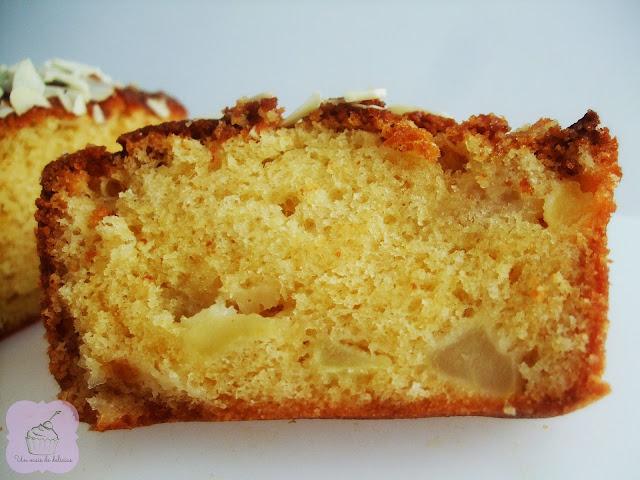 Quatre-quarts pomme-caramel au beurre salé
