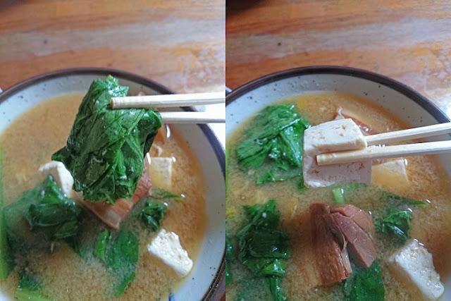 ほうれん草と島豆腐の写真