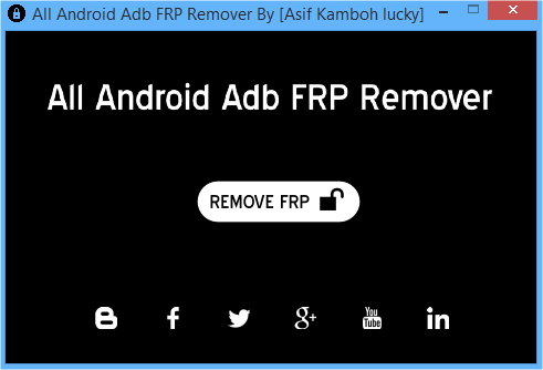 All Android ADB FRP Remover