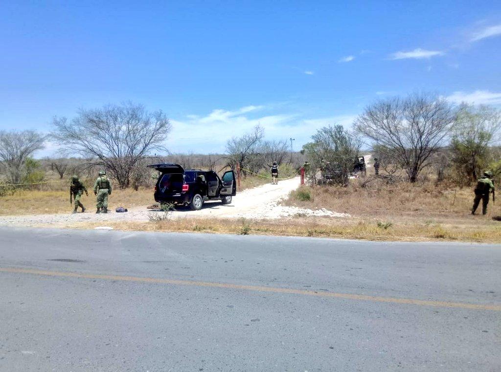 Se registra enfrentamiento entre policías militares y sicarios en Nuevo León un abatido y un herido.
