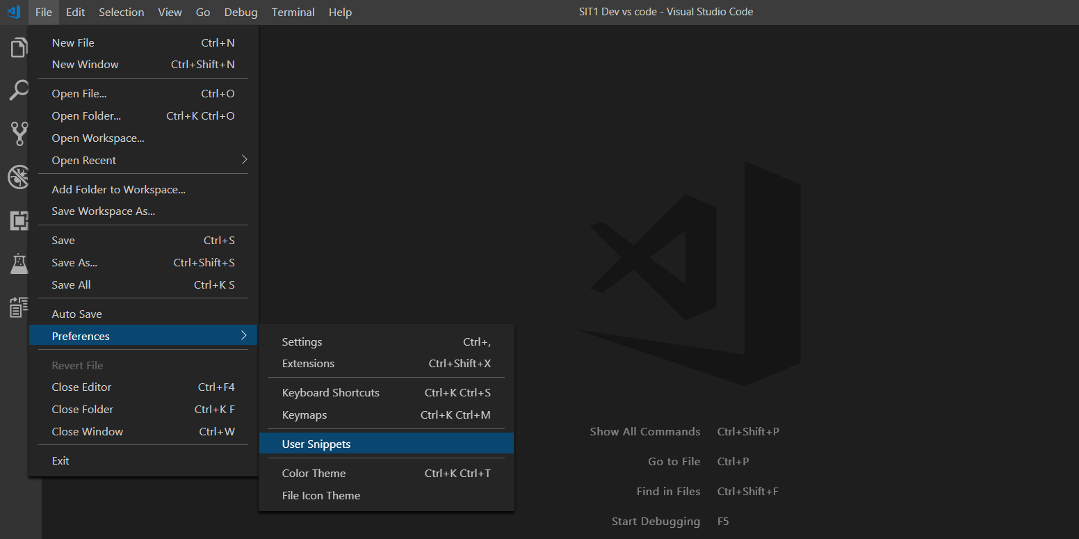 Apex snippets in Visual Studio Code - Salesforce Code Crack