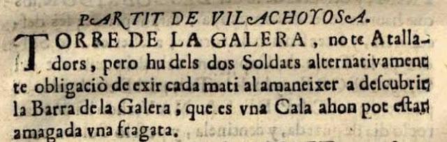 """A mí em dona diarrera quan lligc en TV """"Vila Joiosa"""" quan en idioma valencià pronunciem #Vilachoyosa./ Com ValCHunquera , puCHá, roCHechá, etc /  Ordinacions tocants a la custodia, y guarda de la costa maritima del regne, 1673"""