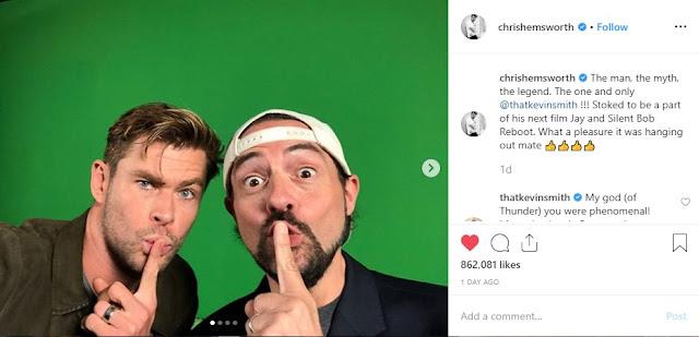 Chris Hemsworth Gabung Reboot Jay and Silent Bob