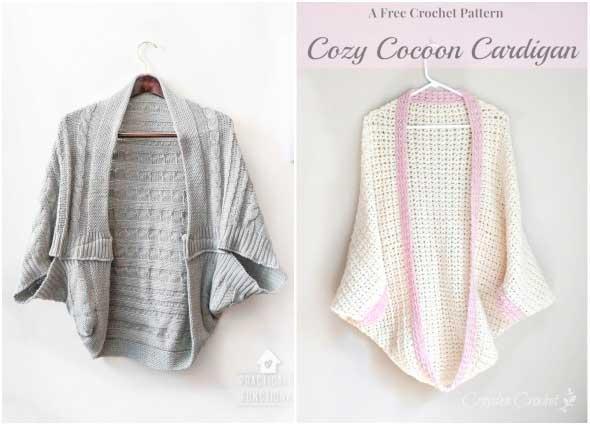 cardigan, chaqueta, capullo mariposa, kimono, cocoon, reciclar, bricomoda
