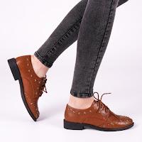 Pantofi casual femei bej la pret mic de calitate