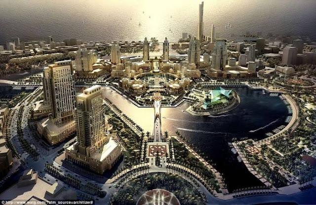 Pembangunan Kota Modern Arab Saudi yang Dikebut Hingga 2035