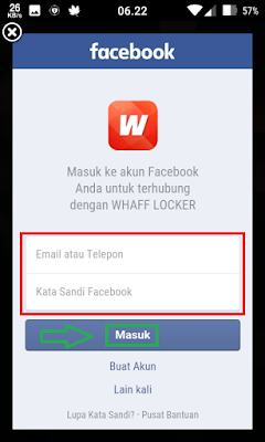 daftar whaff locker via facebook